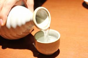 日本酒お湯割り